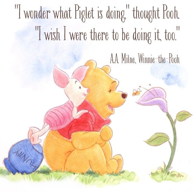 winnie the pooh and piglet relationship goals