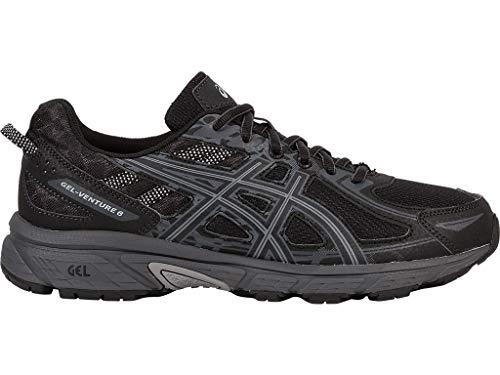 ASICS Mens Gel-Venture 6 Running Shoe, Black/Phantom/Mid ...