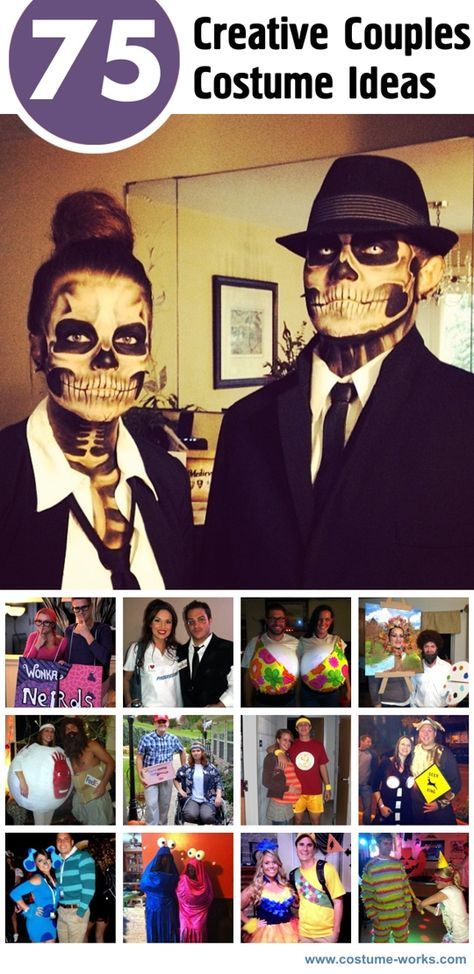 75 Creative Couples Costume Ideas Couple halloween, Couple costume - halloween couples costumes ideas