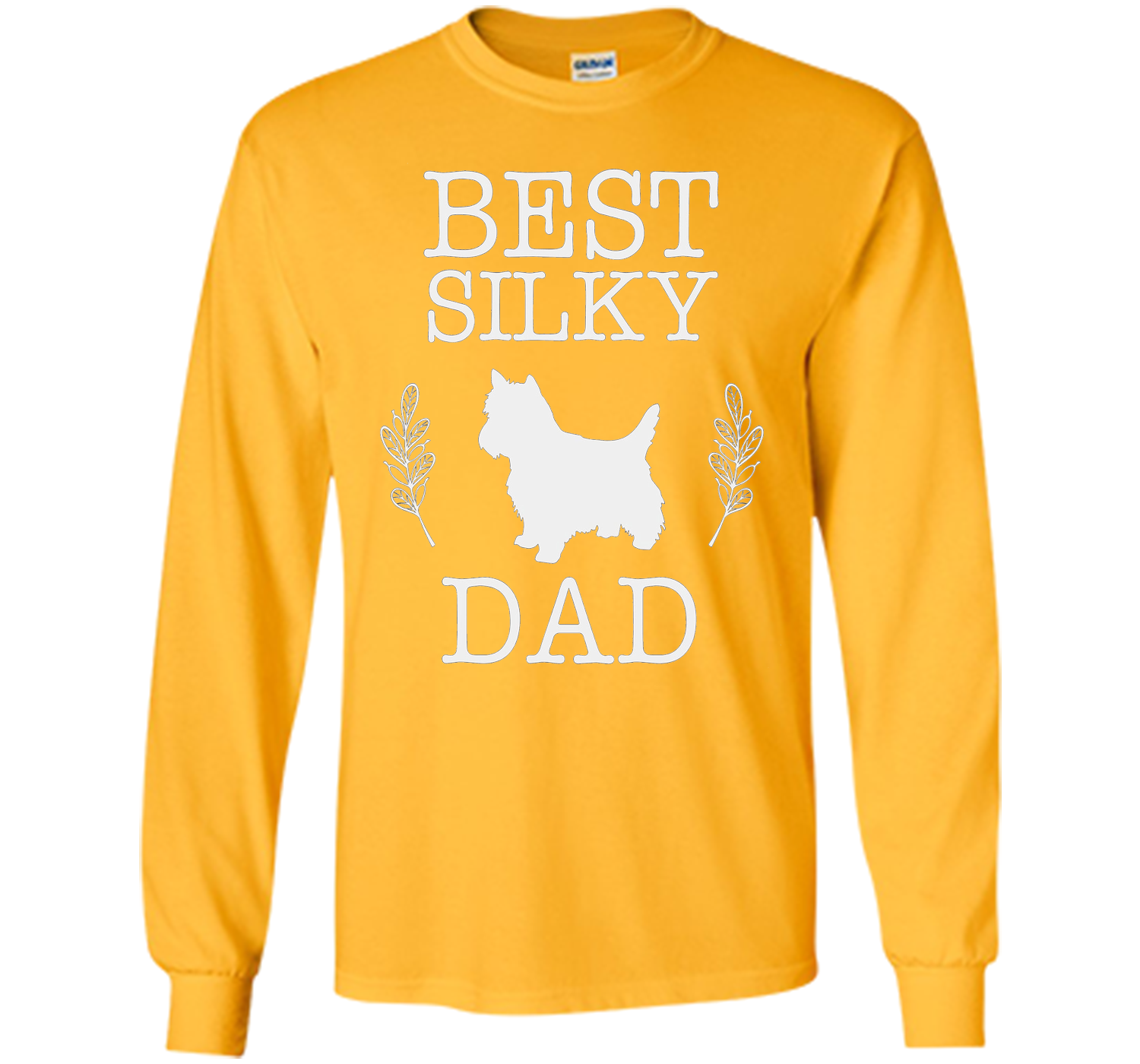 Best Silky Dad Shirt Fathers Day Gift For Dog Lover
