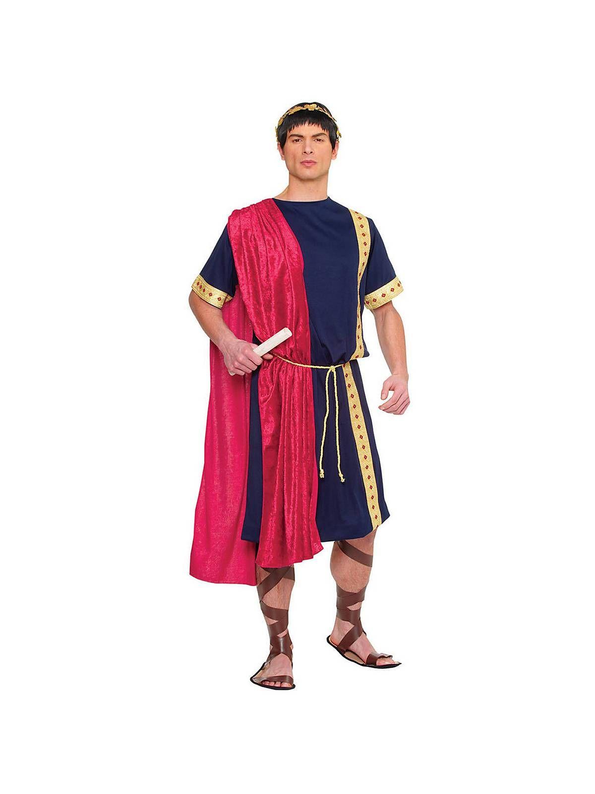a4d240010 Mens Roman Senator Costume | Cheap Greek & Roman Costumes for Men ...