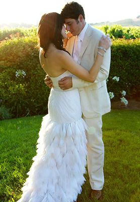 Jason Biggs and Jenny Mollen at Their Wedding in Napa-2008