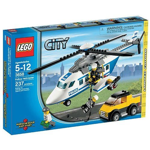 Lego City Limited Edition Set 3658 Police Helicopter Lego Http Www Amazon Com Dp B004jvb5m Lego City Police Helicopter Lego City Helicopter Lego City Police