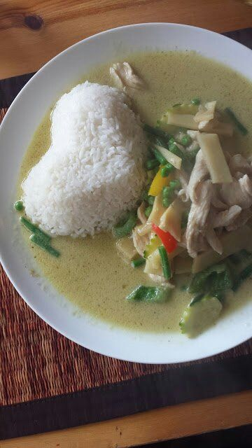 Superb green curry at the Blue Thai Kitchen http://paulandcarolelovetotravel.com/ #thai #thaifood #thailand #greencurry #curry #food