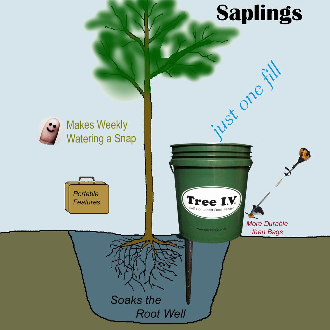 Tree i v portable root feeders my tn garden ideas pinterest tree roots lawn and garden for Portable watering tanks for gardens