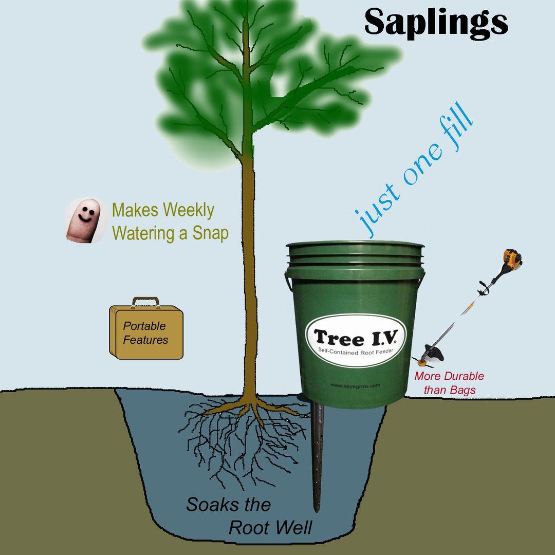 Tree I V Portable Root Feeders My Tn Garden Ideas