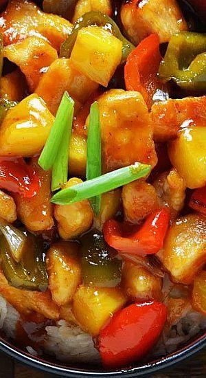Sweet And Sour Chicken Recipe Fav Recipe 7 Pinterest Recipes
