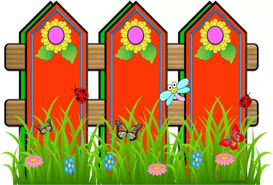 Red Fences With Images Clip Art Borders Disney Photo Frames