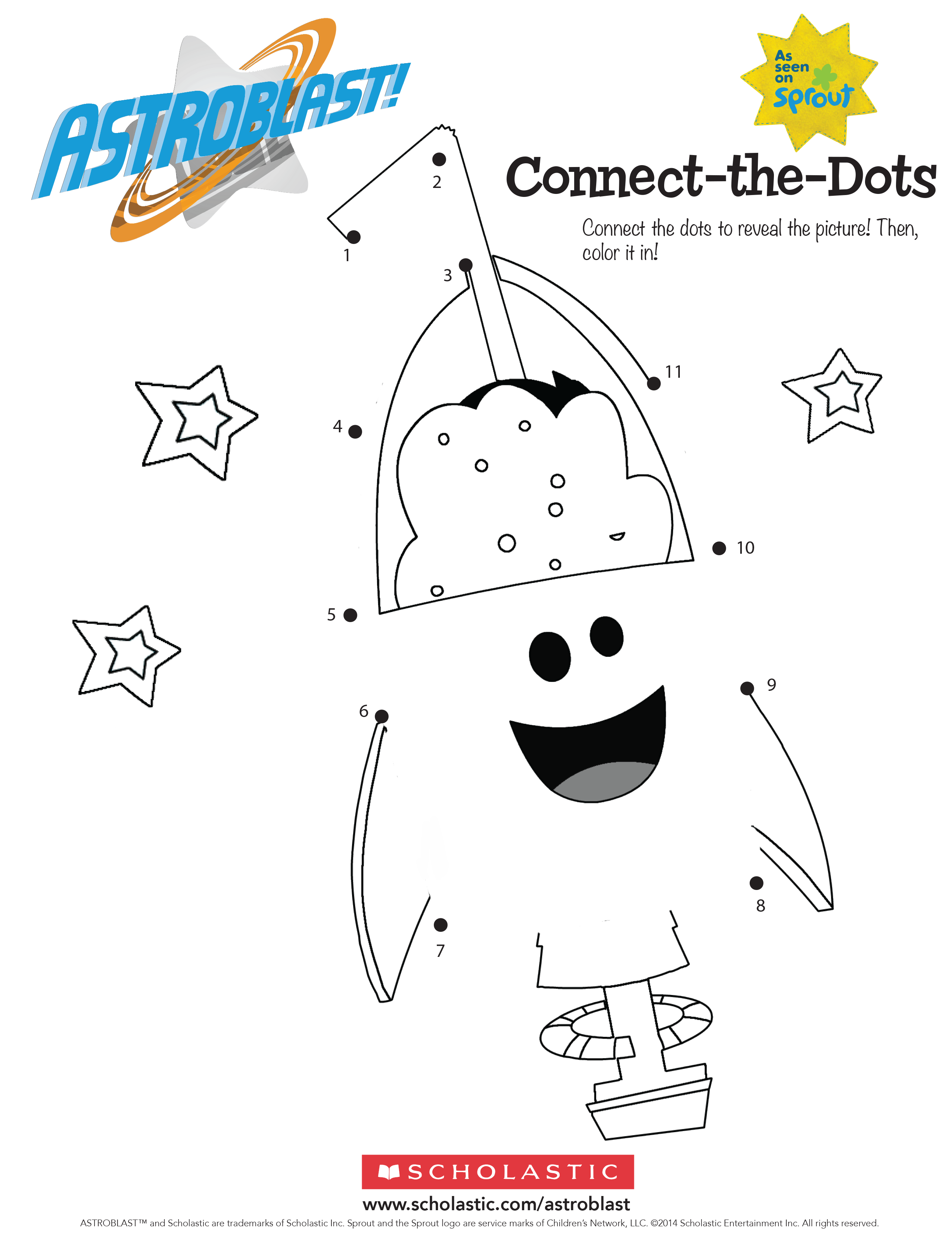 Astroblast Connect The Dots