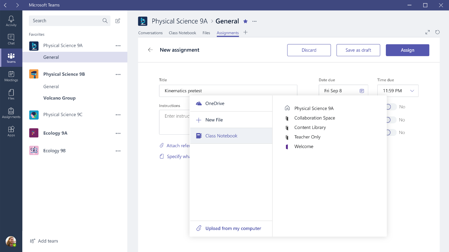 Teams for Office 365 Education updates rolling out, more