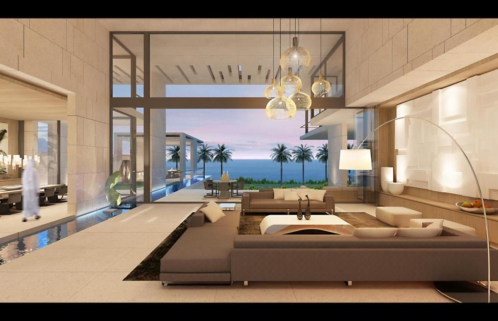 modern home interior sn centura dakar senegal saota
