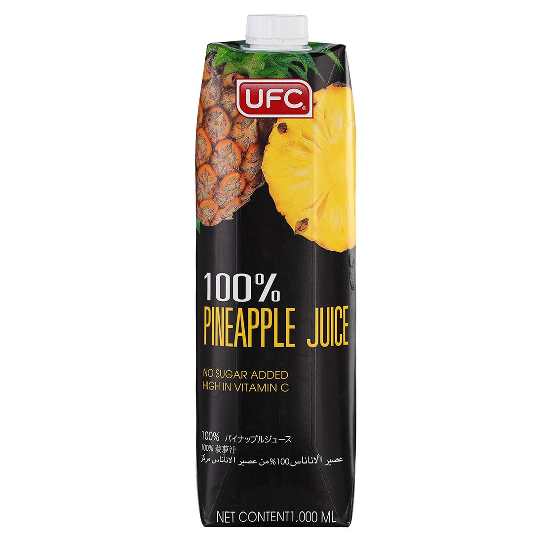 Nước Ép Thơm 100% UFC - Nước Trái Cây Nhập Khẩu