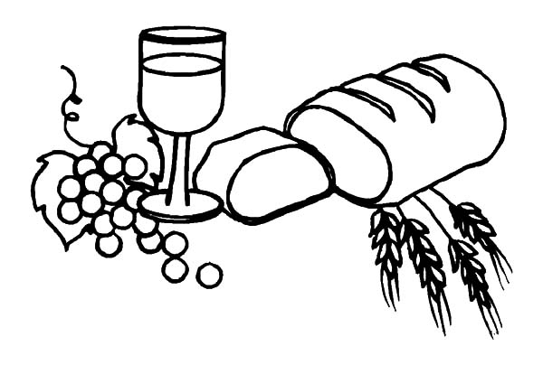 Wine And Bread Coloring Pages Best Place To Color Coloring Pages Coloring Pictures Online Coloring