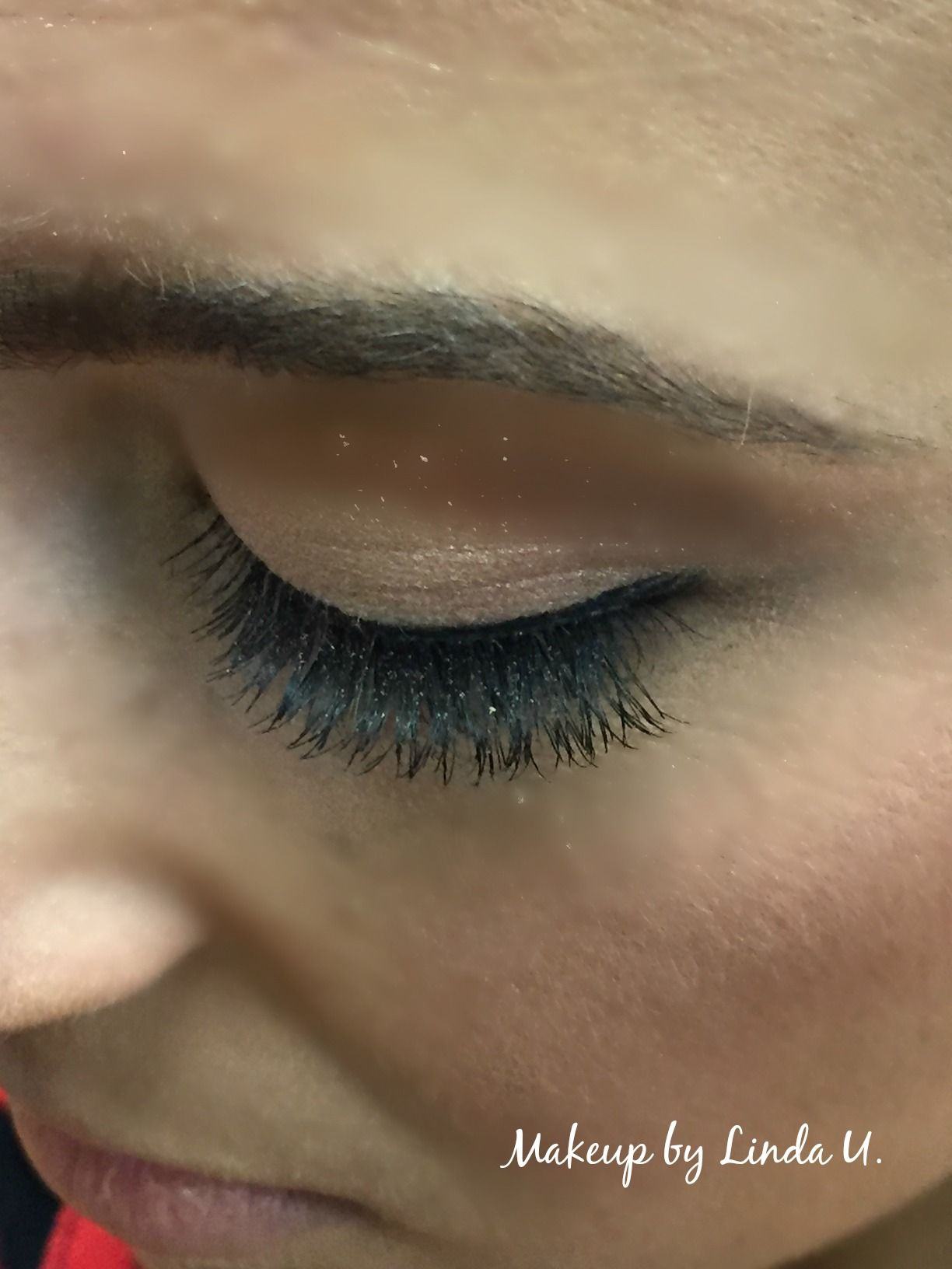 Temporary lashes add drama to your eyes for any special