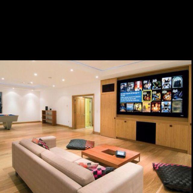 Tv Room Home Dream House Luxury Rooms