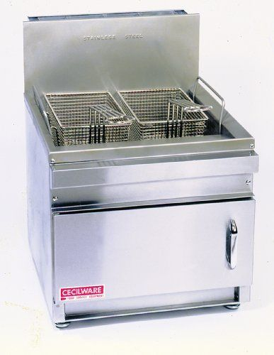 Grindmastercecilware Gf28nat Countertop 28pound Natural Gas Fryer