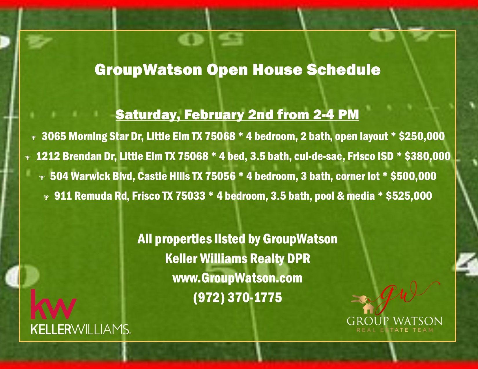 The Colony Texas Real Estate. GroupWatson, Keller Williams