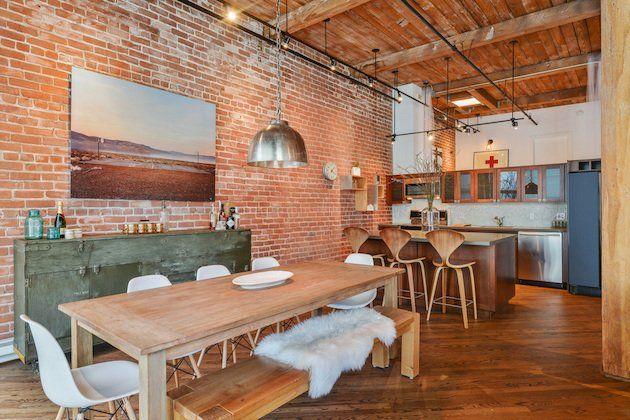 Loft et murs en briquettes - Visite Deco Blog | Lofts