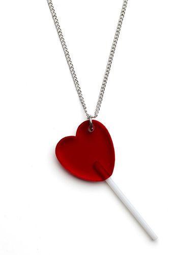 I Heart Lollipops Necklace $49.99