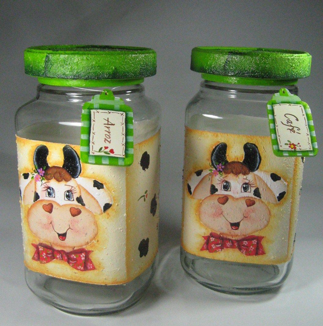 Frascos en vidrio reutilizados para almacenar y organizar for Decoracion de frascos de vidrio para cocina