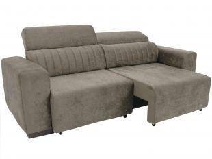 sofa retratil. sof retrtil e reclinvel 4 lugares elite linoforte sofa retratil r