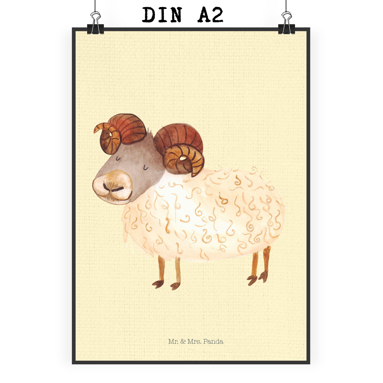 Poster DIN A2 Sternzeichen Widder