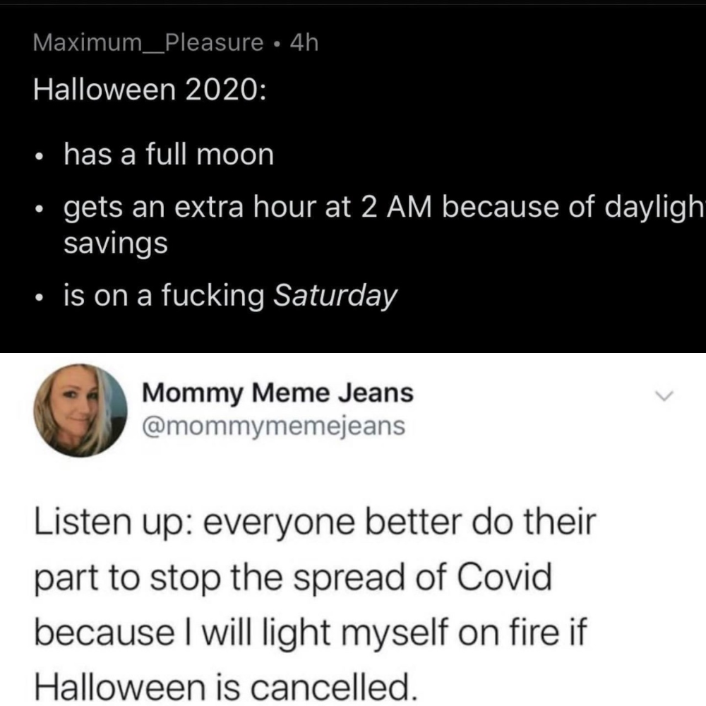 Happy Halloween Funny Memes 2020 🎃Happy Halloween🎃 in 2020 | Funny relatable memes, Memes, Tumblr
