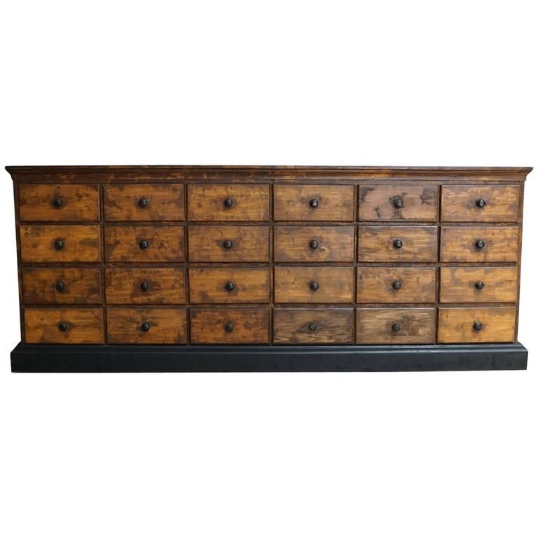 Delightful Vintage French Pine Apothecary Cabinet, 1900s | From A Unique Collection Of  Antique And Modern Apothecary Cabinets At ...
