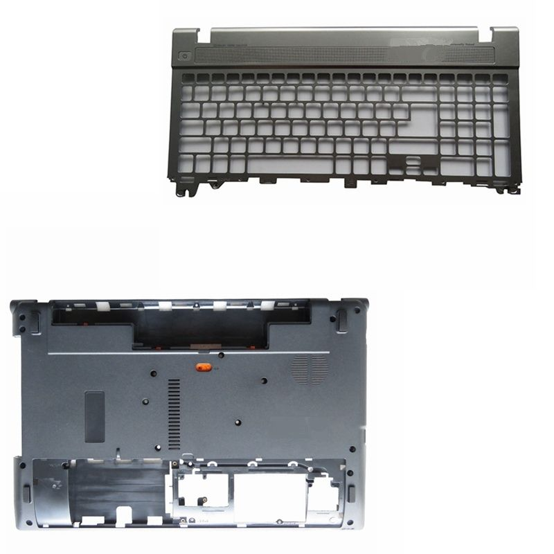 Laptop Bottom Base Case Cover Door Palmrest Keyboard For Acer Aspire V3 V3 551g V3 571g V3 571 Q5wv1 V3 531 V3 551g New New Laptops Acer Aspire Case Cover