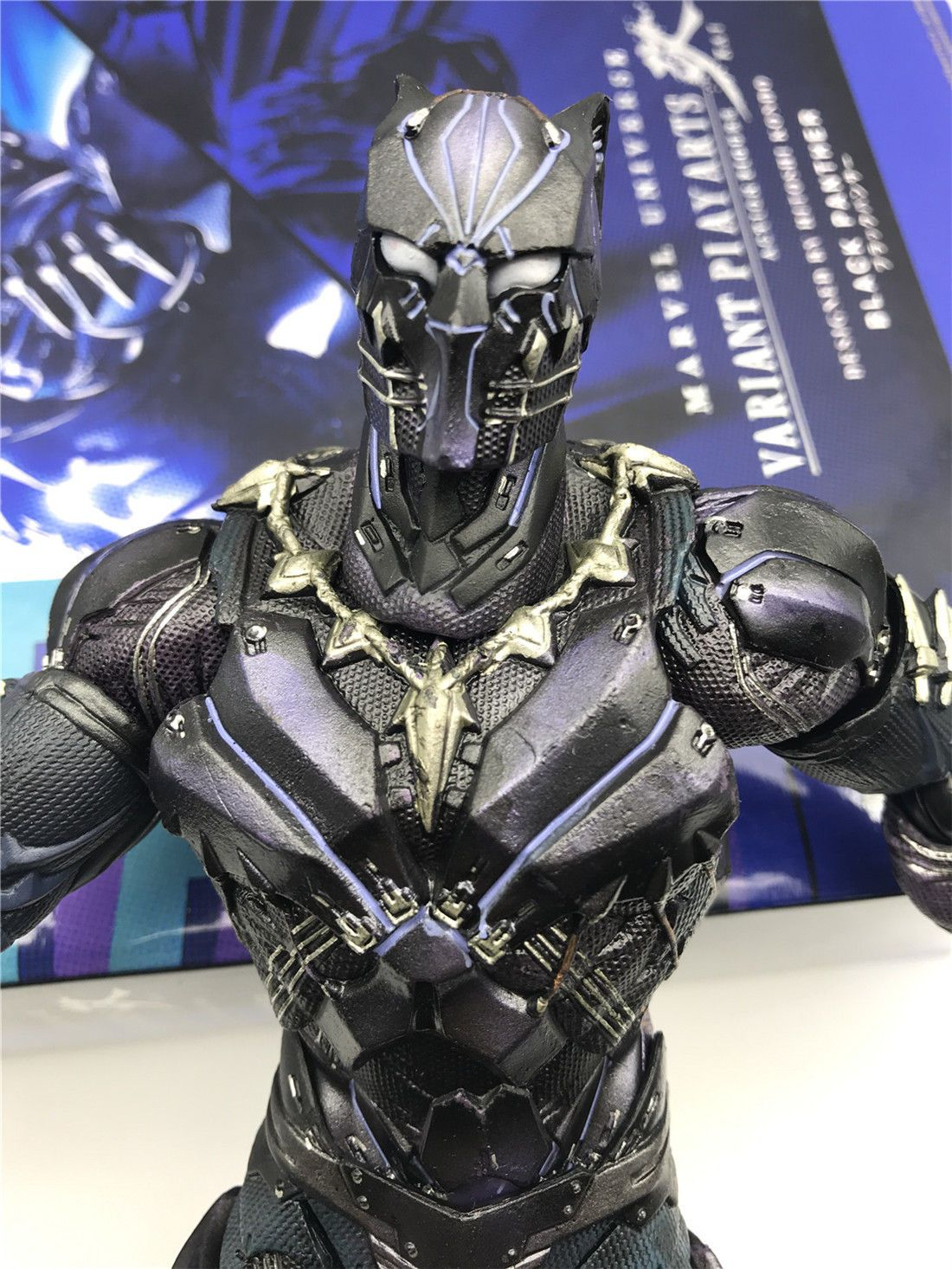 Crazy Toys Play Arts Kai Black Panther New