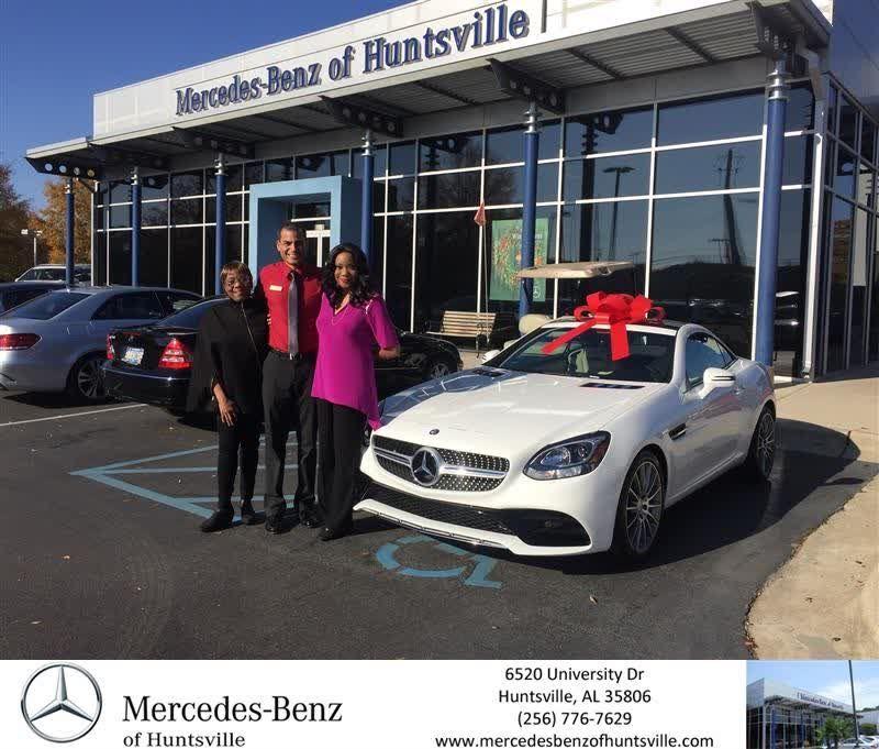 Congratulations Ernestine On Your Mercedes Benz Slc From Nelson Alvarado At Mercedes Benz Of Huntsville Https Deliverymaxx Mercedes Benz Benz Huntsville