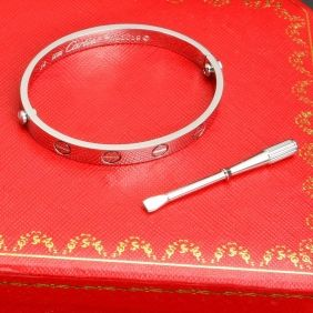 Classica; Fashion Celebrities Cartier Love Bracelets Collection Replica in Rose Gold