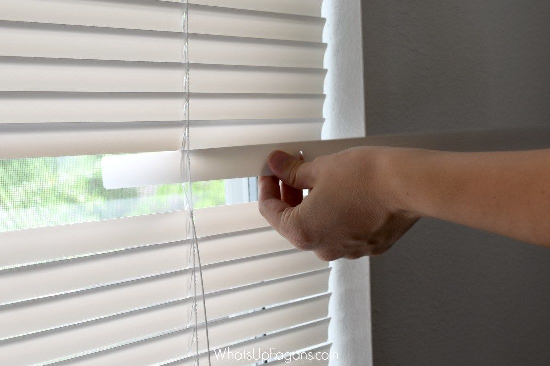How To Fix Mini Blinds.How To Fix The Mini Blinds Your Kids Destroyed Moving