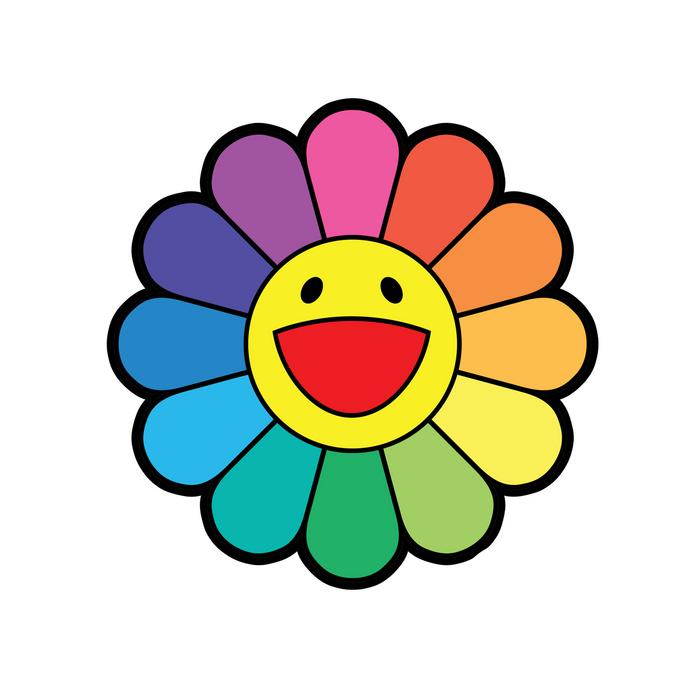 takashi murakami rainbow pillow