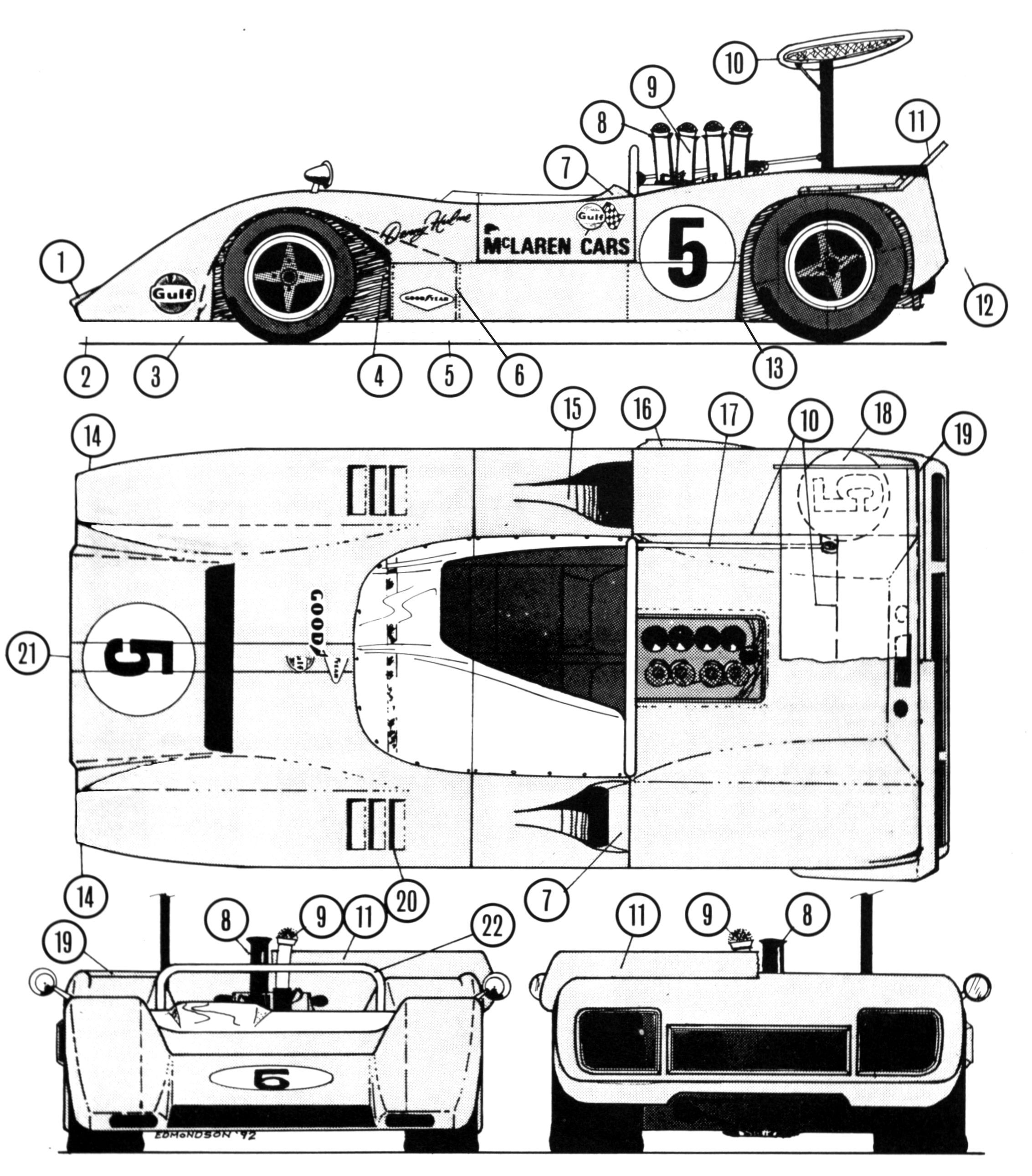 Mclaren m8a chevrolet can am kwick kiwis pinterest chevrolet cars and ford