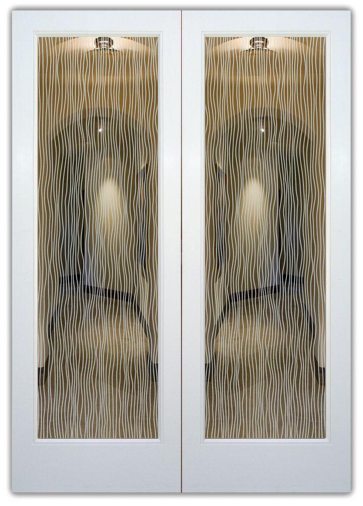 Interior Glass Doors Water Trails Glass Pantry Door Interior