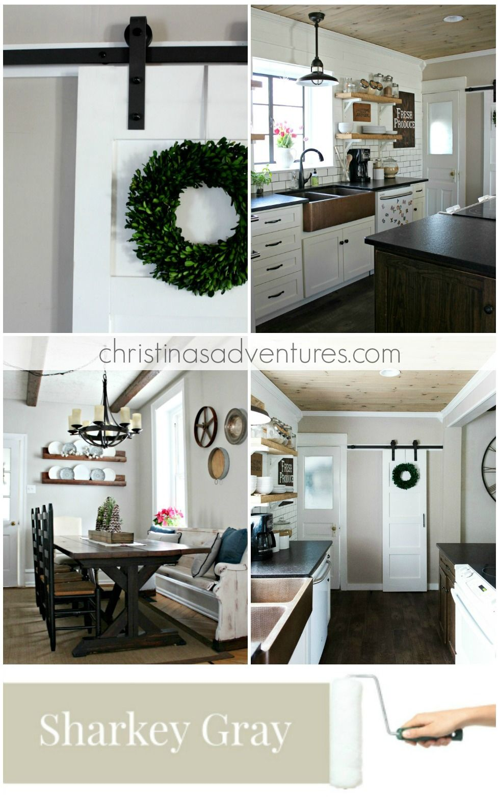 Modern Farmhouse Kitchen Wall Colors Novocom Top