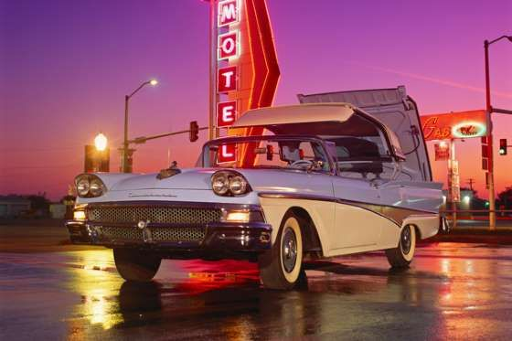 1958 Ford Fairlane Skyliner Retractable - Photo: Car Culture/Car Culture Collection/Getty Images