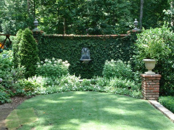 kleiner brunnen garten design ideen garten jardins amenagement jardin und topiaire. Black Bedroom Furniture Sets. Home Design Ideas