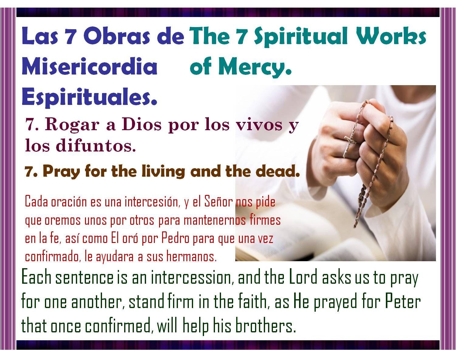 Práctica en Semana Santa la 7ma obra de misericordia Espiritual. http://instagram.com/p/05gCYbiZxh/
