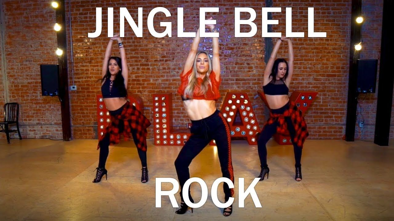 """Jingle Bell Rock (Mean Girls)"" (Dance Tutorial)   Mandy Jiroux - YouTube   Mean girls dance ..."