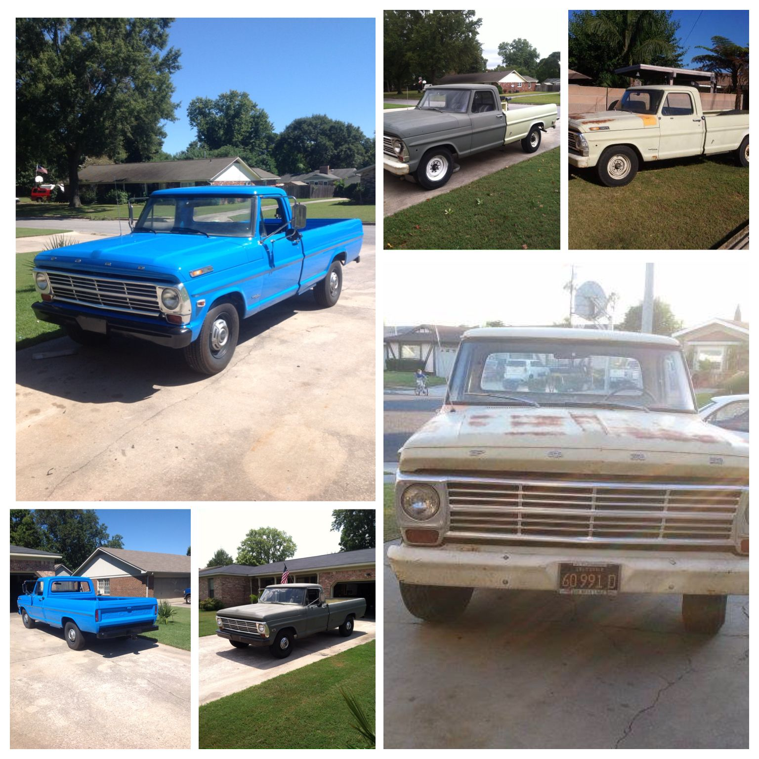 1969 Ford F 250 Camper Special
