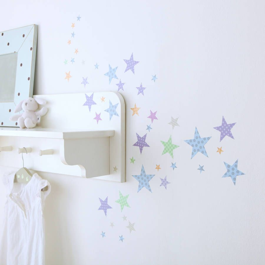 Beautiful Childrens Star Wall Stickers