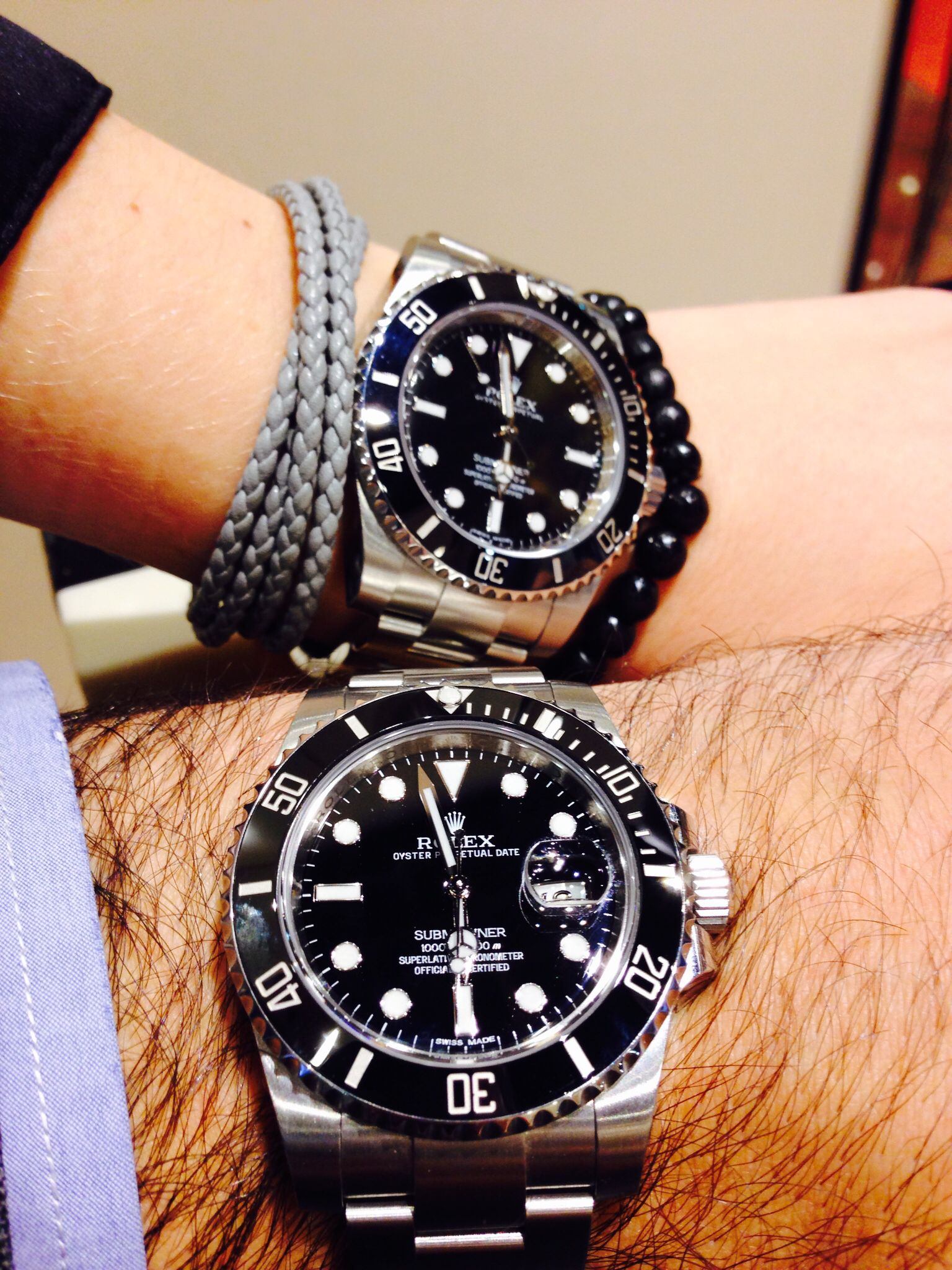 Rolex Submariner, Ref. 116610 LN and 114060 (No Date ...