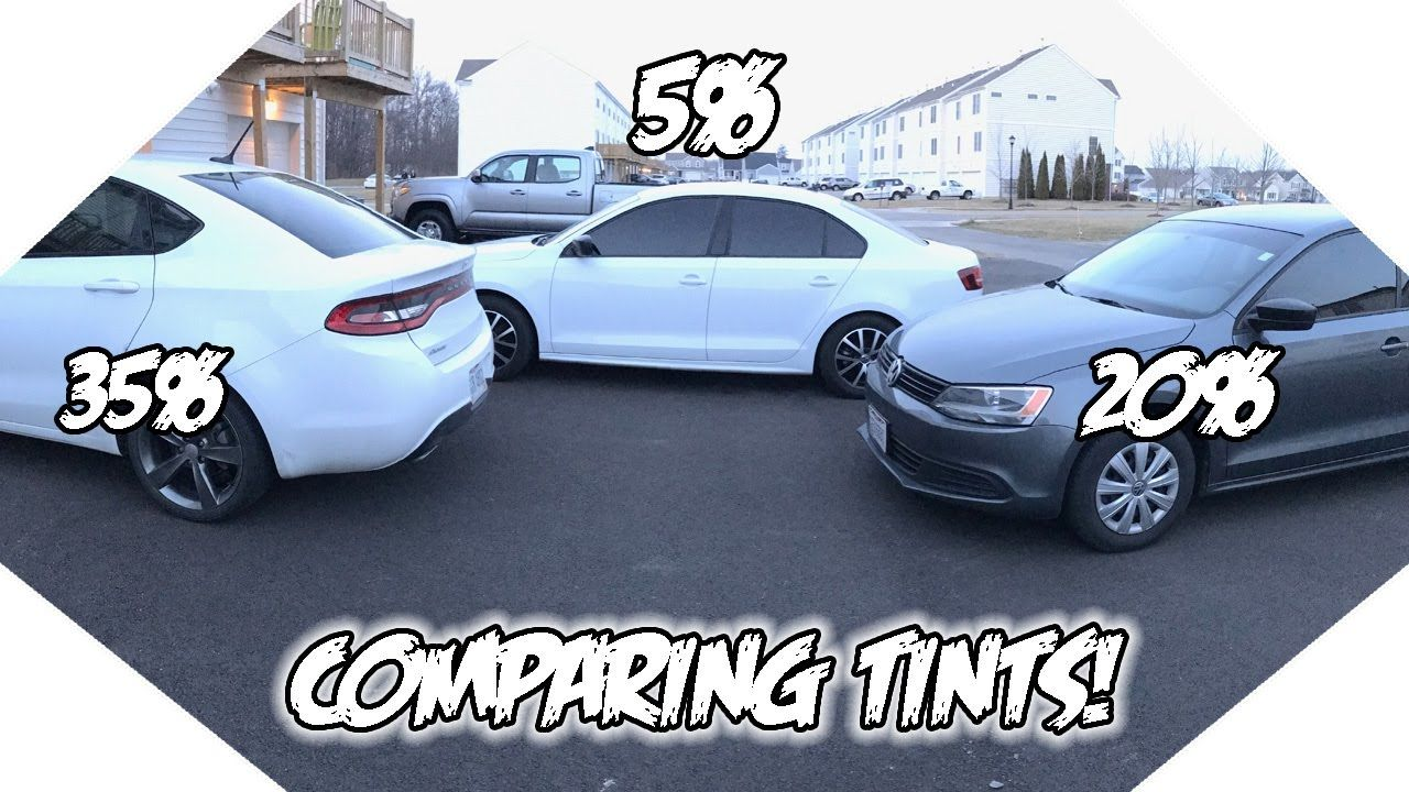 35 vs 20 vs 5 Window Tint! What tint is best for you