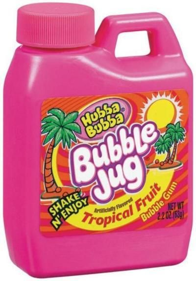 90's Bubble Jug! #retro #vintage #gum | 90s food, Childhood, Fruit gums