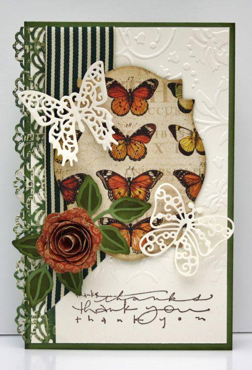 Spellbinders Card Gallery Google Search Butterfly Scrapbooking