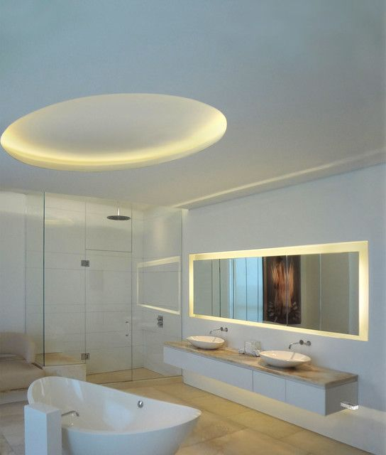 Led Tape Bathroom Ceiling Google Search Bathroom Lighting Design Bathroom Lighting Modern Bathroom Lighting