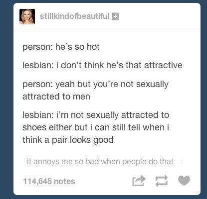 how to know if a lesbian is attracted to you