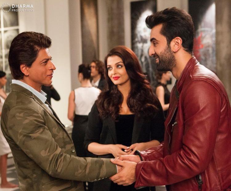 Ae Dil Hai Mushkil Shahrukh Khan Dialogue In English King Of Romance Srk Queen Aishwarya Prince Charming Ranbir Look Stunning In This Adhm Still Dil